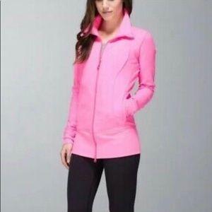 lululemon athletica Jackets & Coats - Lululemon Nice Asana Jacket Zing bright Pink sz4